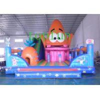 Wholesale PVC Colorful Inflatable Amusement Park With Slide For Children And Adults from china suppliers