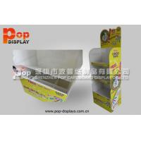 Wholesale Custom Portable Corrugated Plastic Display For Chocolate Bar Promotion In Retail Shop from china suppliers