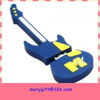Wholesale customized guitar shape Usb Flash Memory from china suppliers