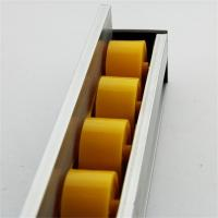 Wholesale Higher Side Aluminum Extruded Shapes Track Yellow Wheel 4 M 34mm Diameter from china suppliers