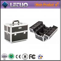 Wholesale LT-MC3010 Classic Black Croc Beauty Case makeup cosmetic makeup bags from china suppliers