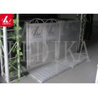 Wholesale Collapsible Aluminium Concert Pedestrian Barrier , Easy To Assemble And Disassemble from china suppliers