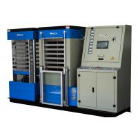Wholesale Blue Hydraulic Board Laminating Machine With Single Cylinder For A3 Size Card , 22KW Power from china suppliers