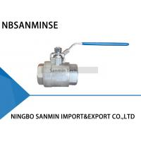 Buy cheap BV - 200 Two Pcs Hydraulic Ball Valve Full Passage BPS ( G ) , SBPT , NPT Thread from wholesalers