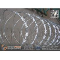 Wholesale 600mm O.D CBT-60 Butterfly Razor Blade Wire Coil | China Razor Wire Supplier from china suppliers