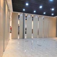 China Soundproof Decoration Aluminum Movable Moving Partition Walls For Banquet Room on sale