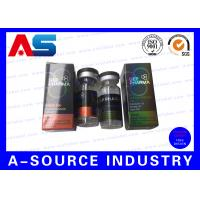 Buy cheap Custom Testosterone Empty 10ml Vials , CMYK / Panton Color 10 Ml Container from wholesalers