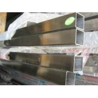 Wholesale Welded Stainless Steel Square Pipe For Staircase Railings / Shutters /  Railings from china suppliers