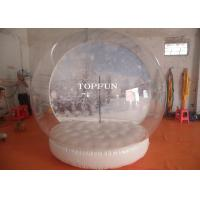 Wholesale Exhibition Show Christmas Inflatable Snow Globes Outdoors 3m Diameter from china suppliers