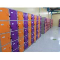 Wholesale Waterproof Storage Locker ABS Material Yellow / Orange 1810 X 310 X 460 from china suppliers