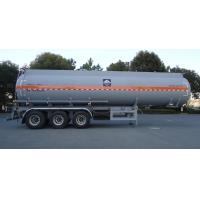 Wholesale HZZ9401GFW Corrosive goods  tank truck safe transportation 35m3 from china suppliers