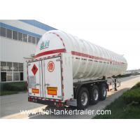 Wholesale Cryogenic liquified gas tank 60CBM chemical tank trailer SKW9400GDY from china suppliers