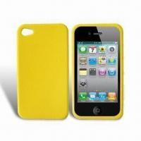 Quality Silicon Case for Apple's iPhone 4, Protects Full Back and Side from Scratches for sale