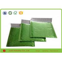 Wholesale Shock Resistant Kraft Bubble Bags , Green Recyclable Plastic Bubble Envelopes from china suppliers