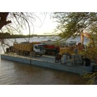 Wholesale Working Offshore Ferry Barge floating pontoon platforms Reusable from china suppliers