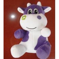 Quality Purple Stuffed Milk Cow Animal Promotional Gifts Toys 8 Inch CE Standard for sale