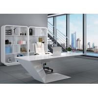 Wholesale Elegant Manager Office Furniture Creative Special Shape With White Baking Paint from china suppliers