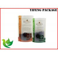 Wholesale custom printed ziplock bags standing up food packing bags with window from china suppliers
