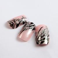 Quality Plastic Diamond Nail Art Fake Nails Fashion glitter for little girls for sale