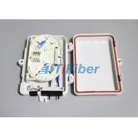 Wholesale FTTH Mini Outdoor Fiber Optic Distribution Box 1x4 PLC from china suppliers
