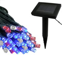 500LED RGB camping string lights led solar of item 105398120