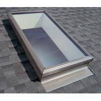 Quality Skylights Roof  Window Tempered Glass Panel Size Customized No Holes for sale