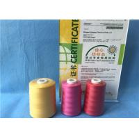 Wholesale Abrasion Resistance Extra Strong Sewing Thread , 100% Cone Polyester Knitting Yarn from china suppliers