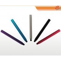 Wholesale Aluminium orange, black retro capacitive screen stylus pen for cell phone, iPad, PDA from china suppliers