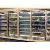 Buy cheap Tempered Glass Door Commercial Beverage Cooler Supermarket Beverage Chiller from wholesalers