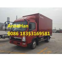 Wholesale EuroIII 8T Sinotruck Howo Light Diesel Engine Container Cargo Truck Option Double Cabin from china suppliers