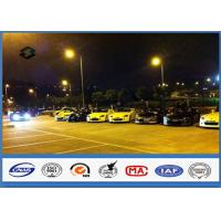 Wholesale 8m Single Arm Galvanized Parking Lot Light Pole for Road / Square / Street from china suppliers