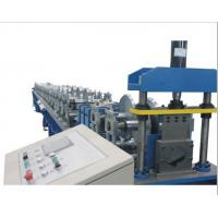 Wholesale PLC Control Gutter Forming Machine Hydraulic Cutting For Rainwater Round Gutter from china suppliers