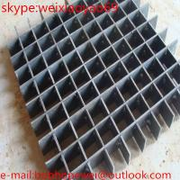 Wholesale galvanized steel grating drainage trench cover from china suppliers