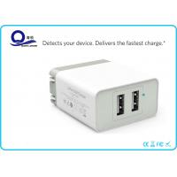 Wholesale Compact iPhone USB Charger Portable Wall Charger with Dual USB for Samsung S6 from china suppliers