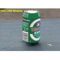 Wholesale Ring pull Can 8mm Outdoor Advertising LED Display for Beer Ads , Energy saving from china suppliers