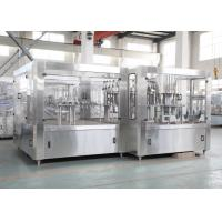 Wholesale Electric Fruit Juice Hot Filling Machine , Automated Drink Filler from china suppliers