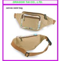 Wholesale Canvas waist bag supplier, waist belt bag, waist pouch from china suppliers