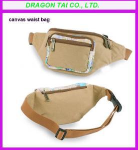 Wholesale Canvas waist bag supplier, waist belt bag, waist pouch from china suppliers