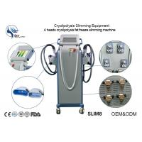 Wholesale Cryolipolysis Fat Freeze Slimming Machine With CE Certificattion With Four Handpiece from china suppliers