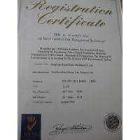 YAOAN PLASTIC MACHINERY CO.,LTD Certifications