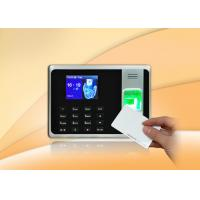 Wholesale Simple Biometric Fingerprint Time Attendance System 500 Card Capacity from china suppliers
