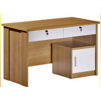 Wholesale 15mm PB / MDF Panel Wood Office Desks Solid With Storage Box DX-911 from china suppliers