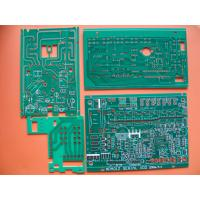 Wholesale Immersion Gold Single Sided PCB Board with Green Solder Mask for LED, telecommunication from china suppliers