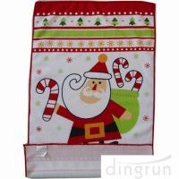 Wholesale Custom Printed Microfiber Kitchen Towels Christmas Design Low Cadmium from china suppliers