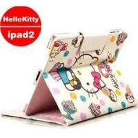 Wholesale Pretty Hello - kitty Eco - friendly pu leather for iPad 2 protective cases for kids from china suppliers