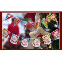 Wholesale printing decorative christmas bunting flags from china suppliers