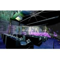 Wholesale Indoor 5HZ 3D cinema systems , 4 people theatre system with Rain / Lighting / Fog Simulator from china suppliers