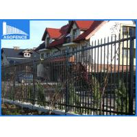 Wholesale 2.4m Decorative Steel Panel Fence Spear Pressed With Australia Style from china suppliers