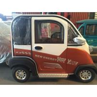 Wholesale Yufeng Smart Four Wheel Fully Electric Passenger Car 48V / 60V1000W from china suppliers
