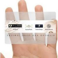 Wholesale Transparent PVC cards / PVC Clear cards from china suppliers